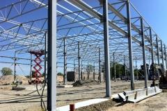 Metallkonstruktsioonide paigaldamine